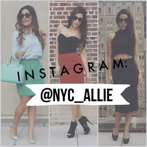 Follow me @nyc_allie